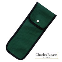 Green Canvas Folding Stick Pouch