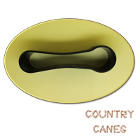 Simple clip for folding walking sticks from Country Canes (#2031) 