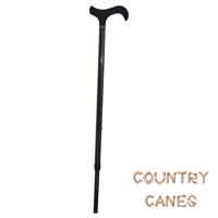 Black Diamond carbon fibre extending walking stick with soft touch derby handle from Fayet (#2121) 