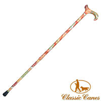 Autumn Leaves Extending Walking Stick