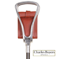 Cheltenham gamebird seat stick/shooting stick from Charles Buyers (#2188)